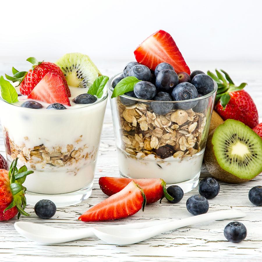 yogurt fruit cup