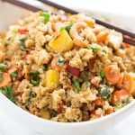 Paleo Pineapple Fried Rice