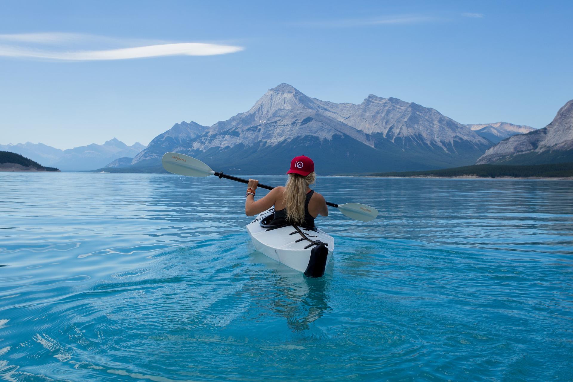 Adventure Girl Kayaking