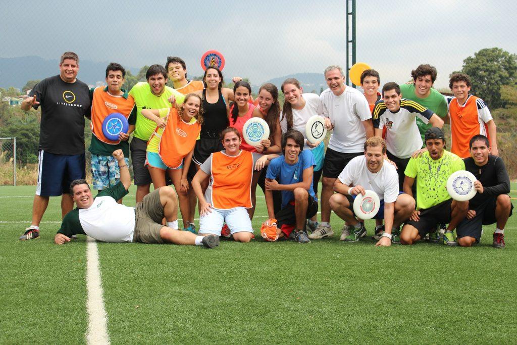 Ultimate Frisbee Adventure Team